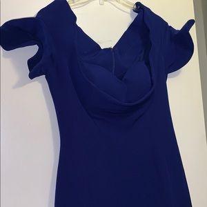 Dark blue Evening Gown dress